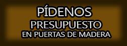Presupuesto en Puertas de Madera Cáceres